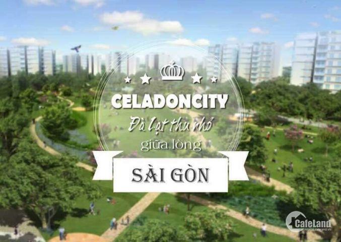 Cho thuê CHCC celadon city 2pn – 2wc , 65m2 , full nt, giá 12 tr/tháng