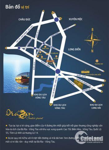 Dự án Dragon Center Point - Đất nền trung tâm Bà Rịa Vũng Tàu - LH: 0903 888 102