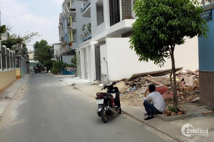 Bán lô đất HXH 6m, đường Bình Lợi, Q. Bình Thạnh, DTCN 63m2, giá tốt