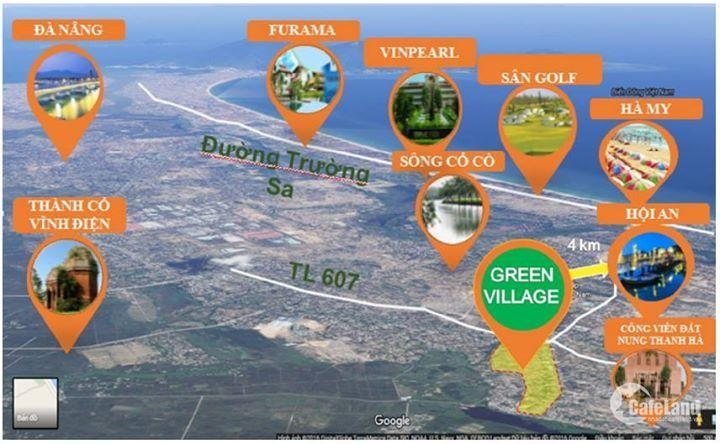 Cần bán vài lô Dự án Hội An Green villages (Khu phố chợ Cầu Hưng - Lai Nghi ) giai đoạng 1