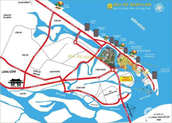 Bán đất biển Cửa Đại, đất biển Hội An giá rẻ chỉ từ 13.5tr/m2 lh: 0898225856
