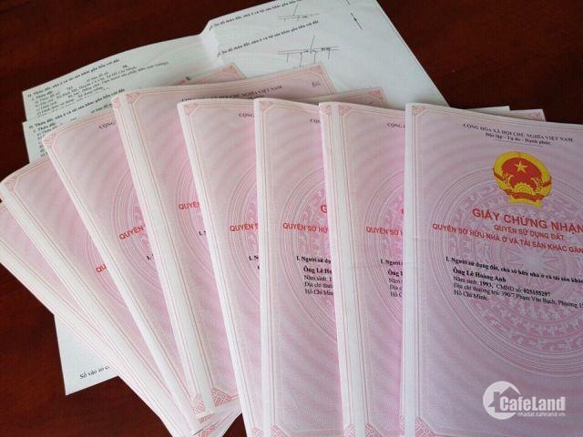 Cần bán lô đất 85m2, mặt tiền đường Võ Văn Bích, sổ hồng riêng