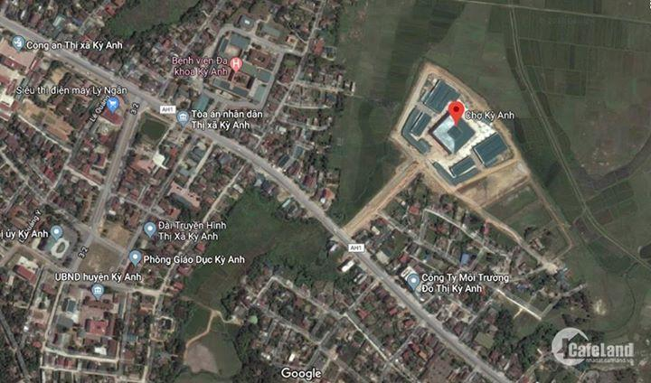 Bán đất nền dự án khu đô thị trung tâm TX Kỳ Anh, Hà Tĩnh giá chỉ từ 3.5 tr/m2