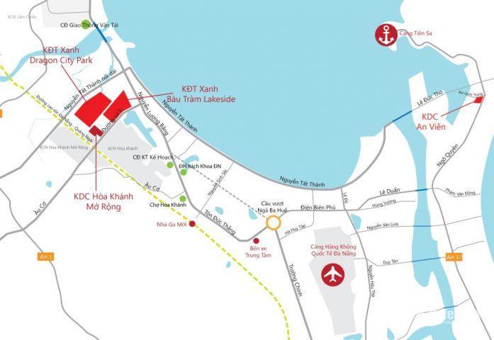 Cơ hội sở hữu địa thế Vàng giữu lòng thành phố Đà Nẵng xinh đẹp