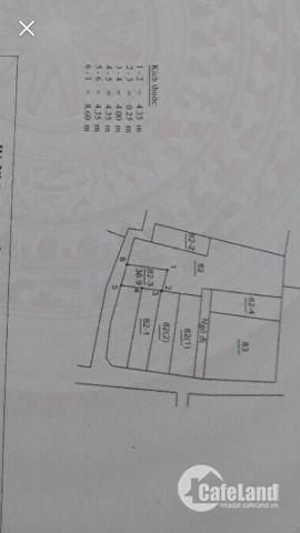 Chính chủ bán đất Thạch Bàn-Long Biên.DT 37m2, giá 1.25 tỷ, SĐCC.