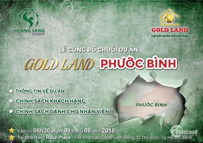 Siêu Phẩm Gold Land Phước Bình – goldland phước bình 1