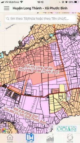 Bán đất Đường Quốc Lộ 51, Xã Phước Bình, Huyện Long Thành, Đồng Nai