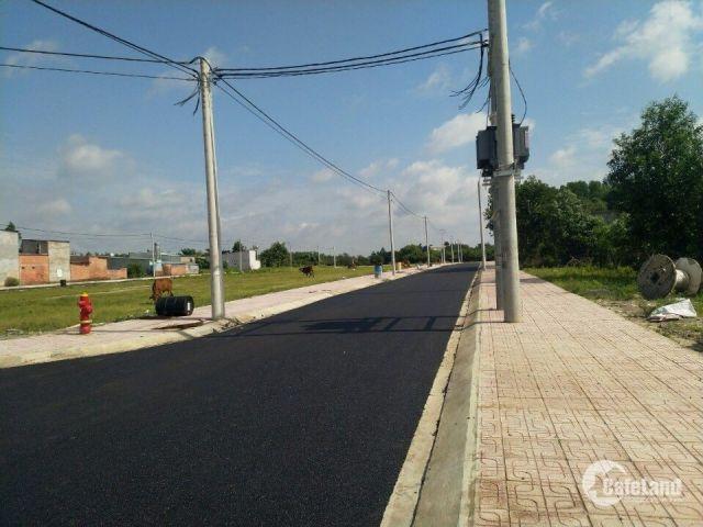 Đất nền thổ cư 100% SHR điện âm nước máy xã Lộc An Long Thành
