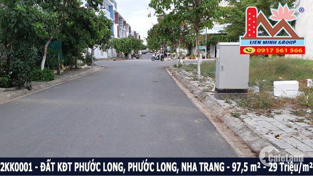 Bán đất lô NV09 lô 38 Khu đô thị Phước Long, phường Phước Long, Nha Trang