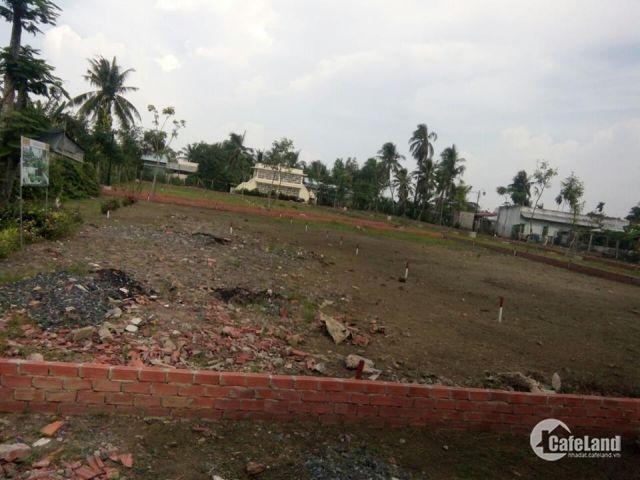 đất bán Liền kề QL1, Gần chợ khánh hậu, gần trường học ở long an