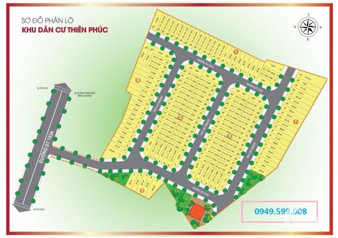 Cần bán đất dự án mới nhất của Cát Tường ,KDC Thiên Phúc ,Bình Dương  giá rẻ nhất