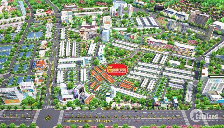 Chính thức mở bán dự án Hài Mỹ New CiTy, Bình Dương, 1,2 Tỷ LH: 0932655771