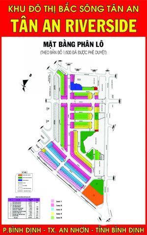 Cơ hội đầu tư vào khu đô thị hiện đại bậc nhất tại thị xã An Nhơn giá chỉ có 750 triệu/lô.