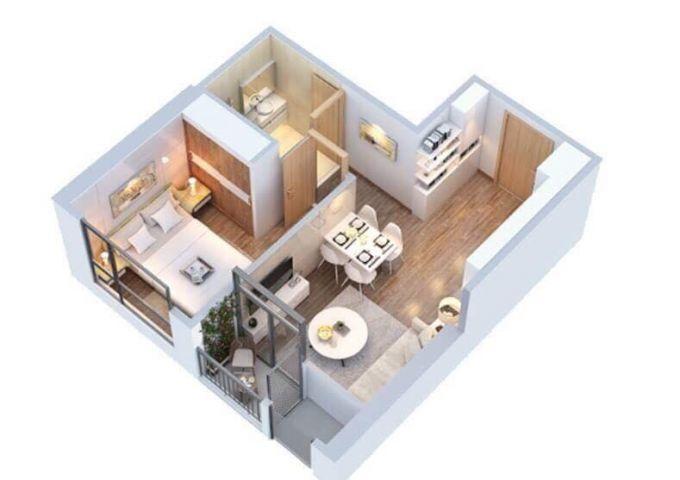 Chung cư cao cấp với nội thất hoàn thiện đẳng cấp 5 sao
