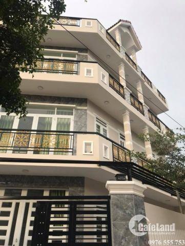 Bán nhà góc mặt tiền, 2 lầu, sân thượng, 6.5m x 13m, 1491 Lê Văn Lương, Nhà Bè, giá 3.2 tỷ