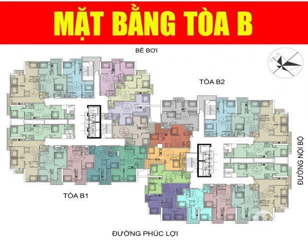 Chỉ từ 800tr sở hữ ngay căn hộ 2 phòng ngủ - full nội thất tại Ruby City ct3 lh: 0913 644 695