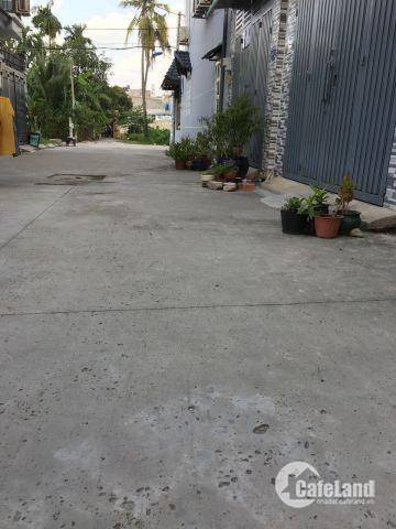 Bán nhà phố liền kề Thạnh Xuân 25 Q12, DT 132m2, chính chủ, shr