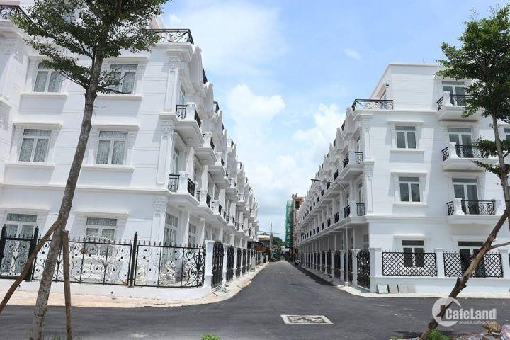 Chính thức mở bán khu nhà phố cao cấp Golden City 2, tọa lạc ngay đường Tô Ngọc Vân, Quận 12, là khu nhà phố biệt lập gồm 2 block (24 căn) .