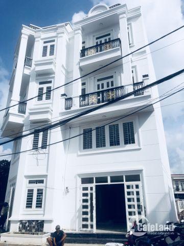 nhà mới 1 trệt 3 lầu sổ hồng riêng,cam kết chính chủ,vay 70% giá 3.6tỷ