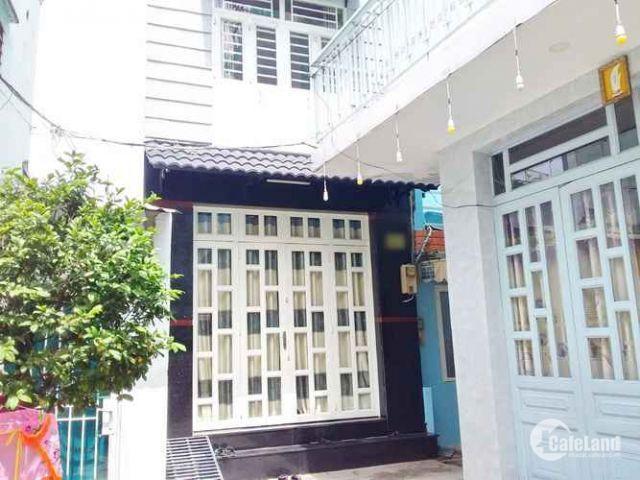 Nhà 1trệt-2lầu-ST 3.55x9m Hẻm 283 Huỳnh Tấn Phát  TTĐ Quận 7.
