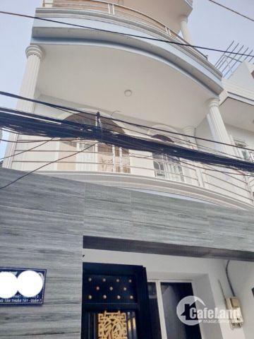 Bán nhà 2 lầu hẻm 150 Huỳnh Tấn Phát phường Tân Thuận Tây quận 7