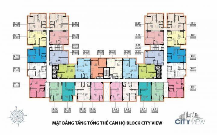 Sang lại căn hộ BX- 10 DT51m2 giá 1.2 tỷ đã VAT + 2%PBT và CL. Cuối năm nhận nhà LH: 0902 737 555