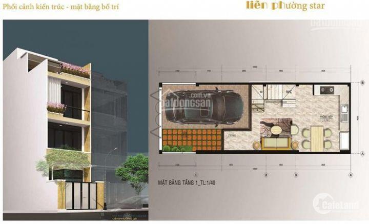 Nơi an cư lý tưởng của khu dân cư cao cấp với nhà 3 lầu, nằm ngay MT Liên Phường, giá 2.55 tỷ