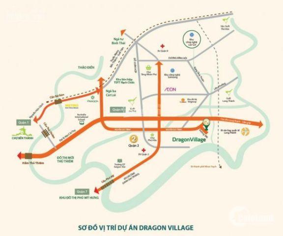 Ket tiền sang nhượng gấp nhà phố 6x15 dự án Dragon Village Q9 giá rẻ