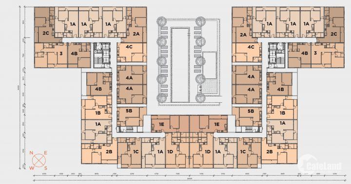Kẹt tiền bán gấp căn hộ 2PN ngay trung tâm quận 9, giá 1,25 tỷ đã bao phí. LH:0909160018