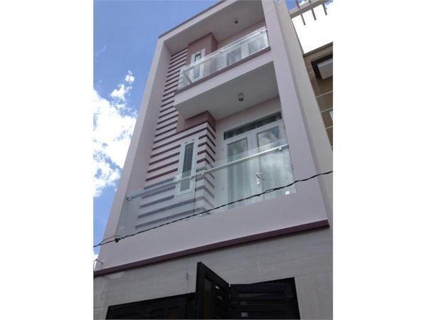 Bán nhà  ngay chợ cầu trường đai Gò vấp đúc 2 lầu 1ty650tr 60m2