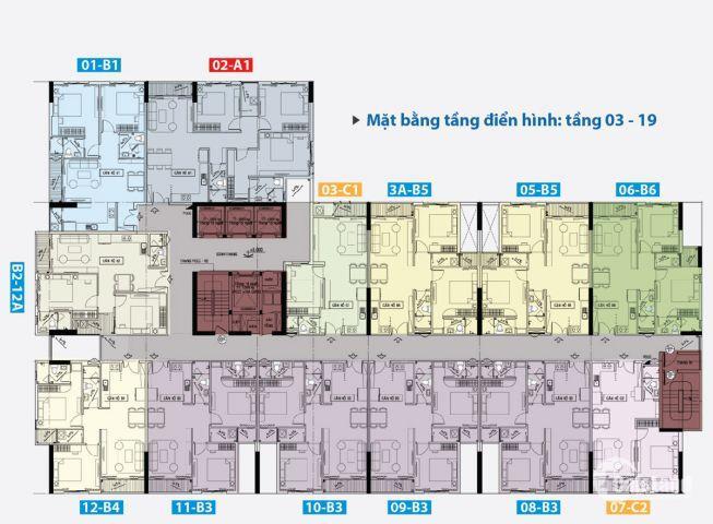 Căn 2pn Carillon 5 ngay MT Lũy bán bích 68m2 2.15 tỷ nhận nhà tháng 10/2018 nhà mới 0932424238