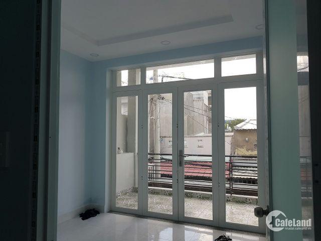Nhà 1 trệt 1 lầu,sàn 110m2,hẻm ô tô rộng,SHR, sổ hồng riêng