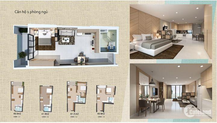Bán căn hộ cao cấp ,1 phòng ngủ, giá ưu đãi cho ace mua đầu tư.