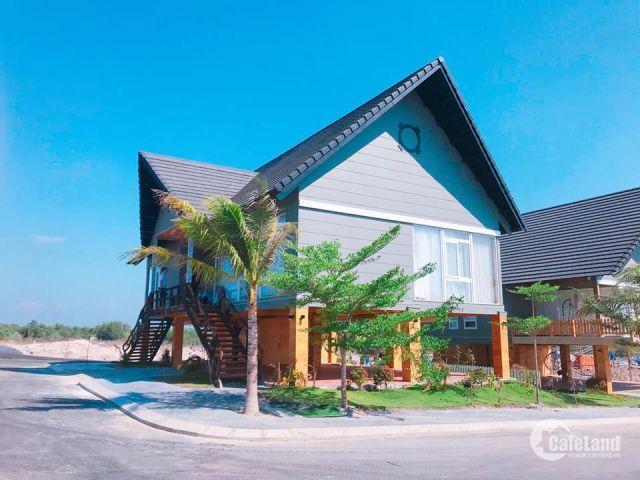 35 nền trong lòng biệt thự nghỉ dưỡng Hồ Tràm nhận nền khai tahsc sổ hồng trao tay