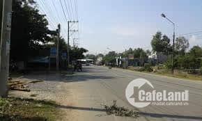 Bán đất mặt tiền đường Hùng Vương.Nhơn Trạch. 0901312808