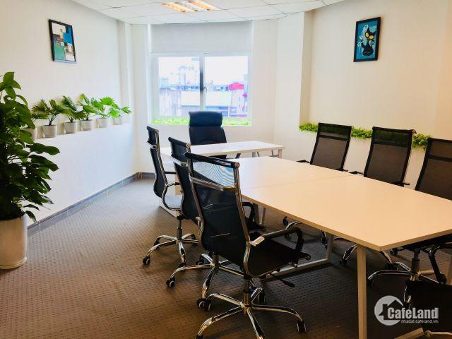 Cho thuê văn phòng trọn gói Ba Đình, giá 12tr dt 40m2, toà nhà hạng B