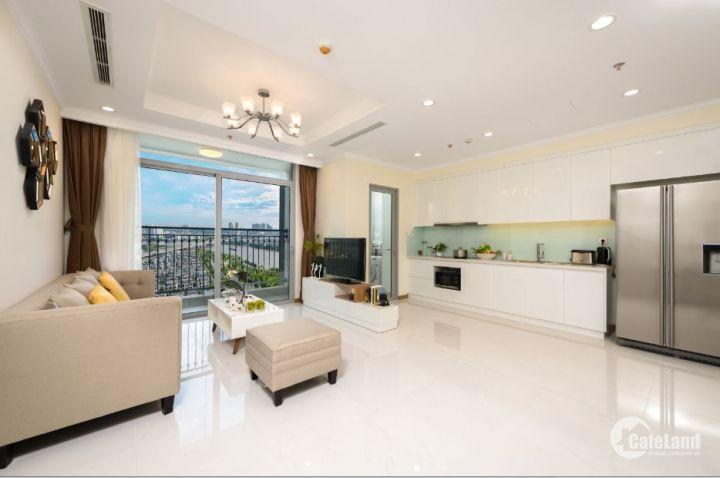 Cho thuê căn hộ 2PN, nội thất Châu Âu, 88 m2, tầng cao, view thoáng tại Vinhomes Central Park