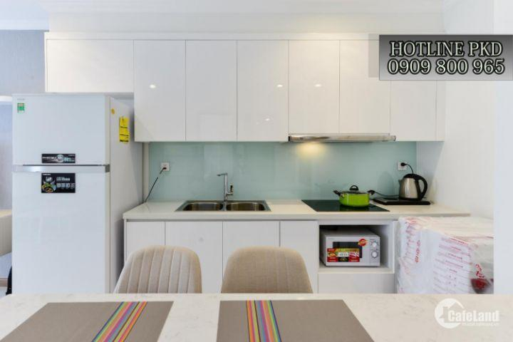Căn hộ Cho thuê giá TỐT- 1PN- đầy đủ nội thất- tầng trung- giá 17tr/tháng- bao phí LH 0909800965