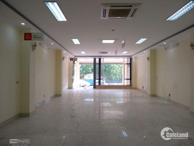 Cần cho thuê gấp vp 160m2 thông sàn giá cả vô cùng hợp lý tại Hoàng Quốc Việt.