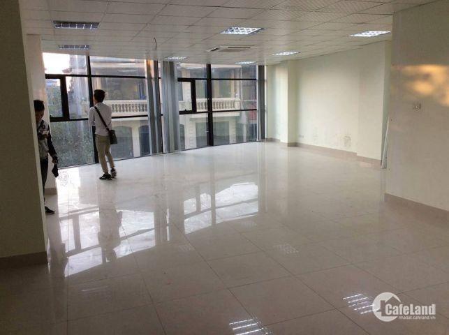 Cho thuê tầng 5 làm văn phòng mặt phố Ô chợ Dừa, Đống Đa