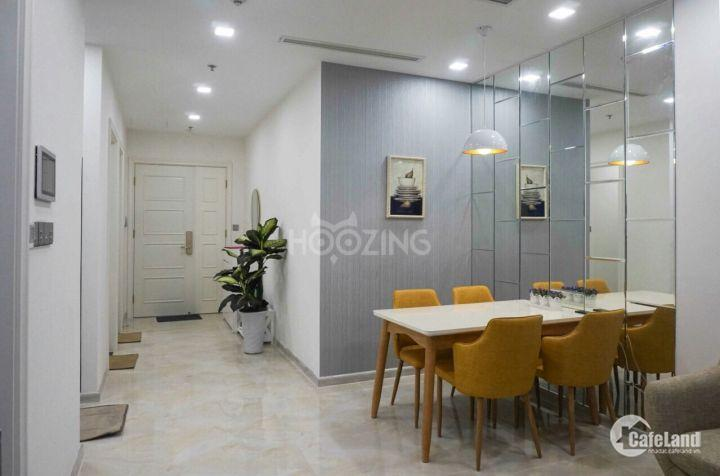 Cho thuê căn hộ view đẹp 2PN full nội thất Vinhomes Bason