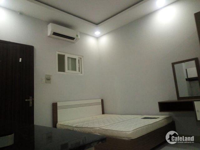 cho thuê căn hộ dịch vụ 27m2, full nội thất, Cao Cấp chỉ 5tr9/tháng, Q4 gần Q7