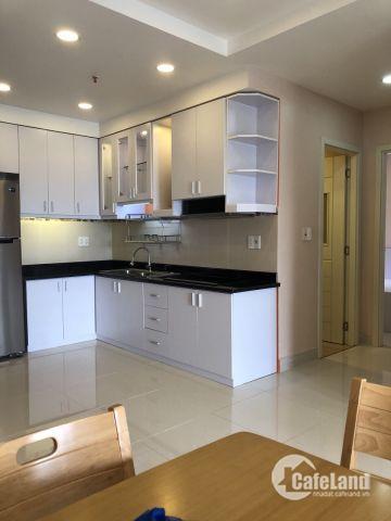 tôi cần cho thuê căn hộ everrich quận 5, 2PN, DT 80m2, giá 20tr, full nội thất
