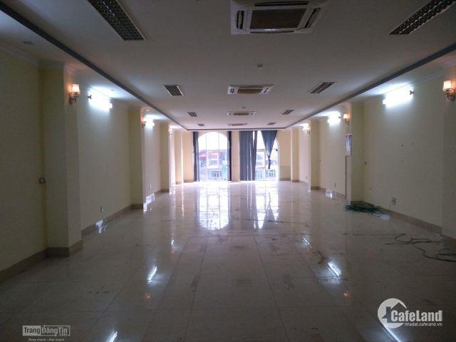 Cho thuê VP 140m2 tòa nhà mới xây mặt phố nguyễn trãi giá từ 26tr