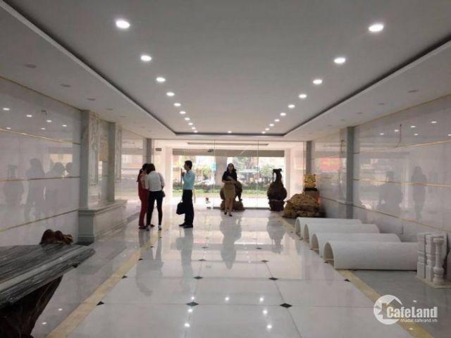 Văn phòng giá rẻ: Cần CHO THUÊ 170m2 VĂN PHÒNG mặt phố Nguyễn trãi,mặt tiền 8m ốp kính
