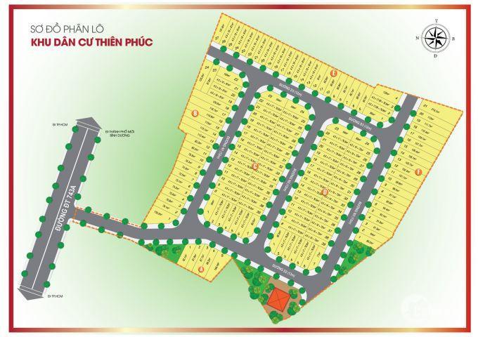 Chỉ 18tr/m2 sở hữu ngay 76m2 đất trung tâm đầy đủ tiện ích