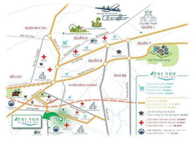 Đất Nền Cách Chợ Bình Chánh 2km,Giá Rẻ Cho Nhà Đầu Tu