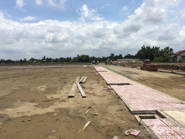 Bán đất nền mặt tiền đường QL 50, Tân Lân. DT 80m2 - 100m2. Giá 11 - 14tr/m2.