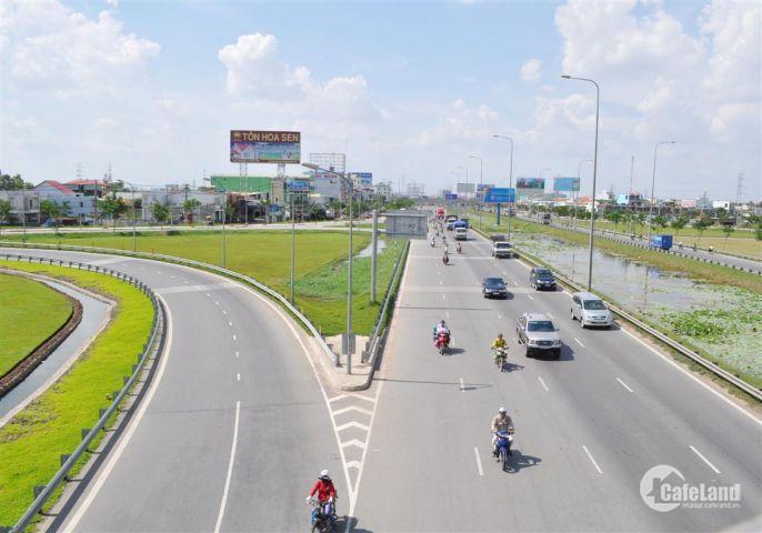 5 lô nội bộ mặt tiền Quốc Lộ 50 của siêu dự án Nam Phong Group giá chỉ 800tr/nền