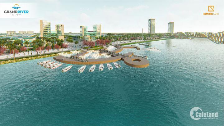 Đất biệt thự ven sông- 8.7 triệu/ m2, đường 27m- KĐT Grand River City
